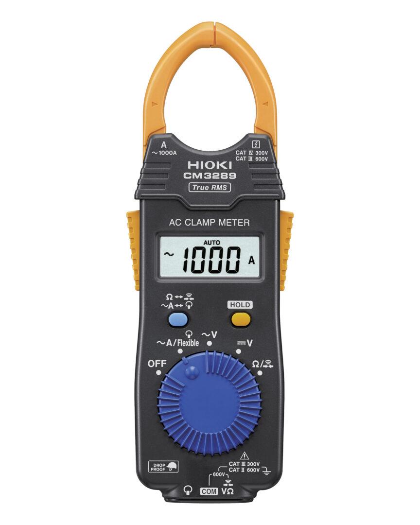 Monika 3280 Digital Clamp Meter : March hioki launches ac clamp meter cm