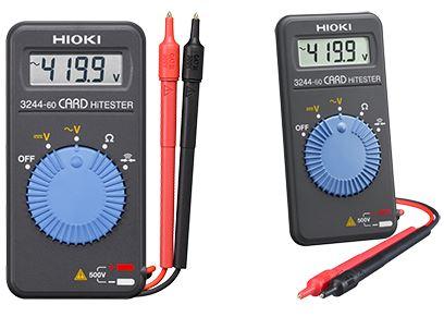 Pocket Digital Multimeter   Card HiTester 3244-60