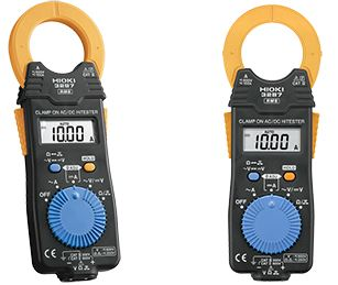 AC/DC Clamp Meter   Clamp On AC/DC HiTester 3287