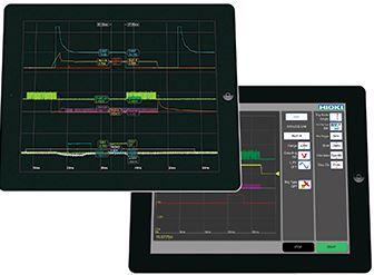 Analyze Memory HiCorder waveforms right on your iPad   HMR Terminal