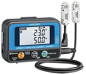 Wireless Temperature and Humidity Data Logger | LR8514