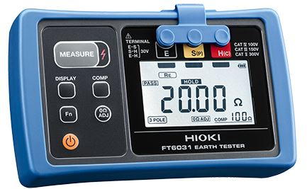 Ground Resistance Tester | IP67 Protected | EARTH TESTER FT6031-50
