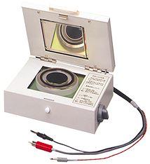Option for Super Megohmmeters   PLATE SAMPLE ELECTRODE SME-8310